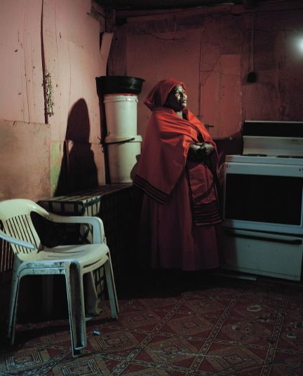 Tommaso Fiscaletti. Sylvia Ntantiso at home. Dunoon, Cape Town. 2014