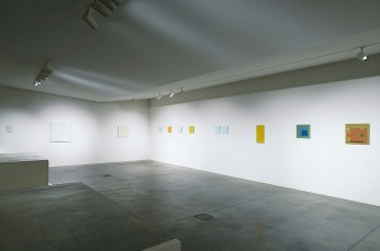 Antonio Calderara, veduta della mostra, Studio Gariboldi, Milano