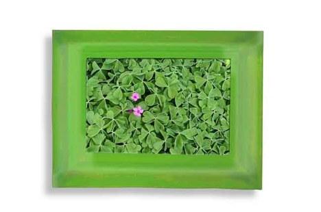 Arte Fiera 40: Chiara Dynys Poisoned Flowers 2014 Plexiglas, lenticolare, 65x85x10 cm galleria Hollenbach, Stuttgart