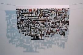Eugenio Tibaldi, Questione di appartenenza, stampa digitale su white back intagliata e sospesa