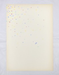 Giorgio Griffa, Paper, 1968