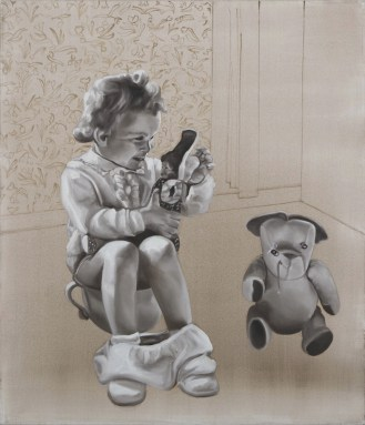 Barbara Nahamd, Toys, 2012, 70x60 cm
