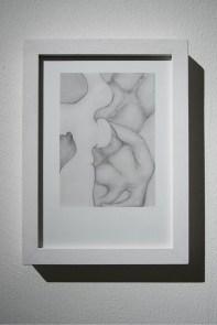Körperland, 2015 disegno, lapis su carta Courtesy dell'artista e Galleria Passaggi, Pisa Foto: Dania Gennai
