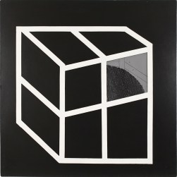 Emilio Scanavino, Nascosto 1, 1968, tecnica mista, cm 150x150