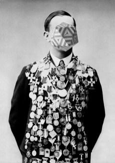 Lamberto Teotino, L'ultimo Dio - 12, 2012-2013, stampa ai pigmenti su carta cotone Hahnemuhle montata su dibond, cornice in quercia di rovere, 130x190x5 cm, edizione di 3 + 2 P.A. Courtesy dell'artista e mc2gallery, Milano