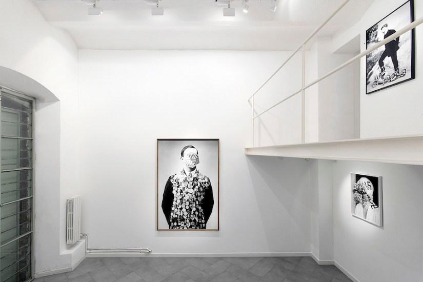 Lamberto Teotino. L'ultimo Dio. Veduta dell'installazione presso mc2gallery, Milano Courtesy dell'artista e mc2gallery, Milano