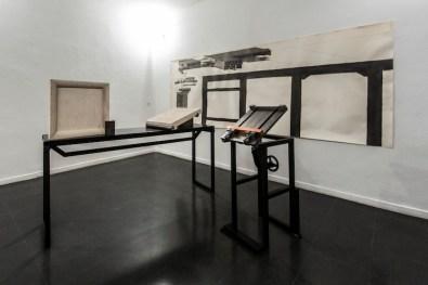 Paolo Gallerani. Innesti e snodi, veduta della mostra, Fondazione Mudima, Milano Foto di Fabio Mantegna