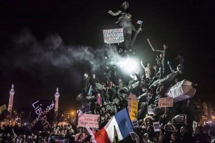 Corentin Fohlen, France March Against Terrorism in Paris, 11 January, France © Corentin Fohlen