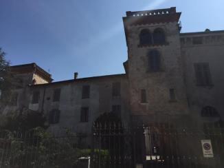 Castello Silvestri, veduta esterna