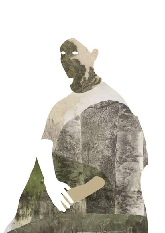 Chiara Diluviani, Inland, nuove forme di Romanticismo, 2014-15, collage digitale stampato su carta, 100x70 cm
