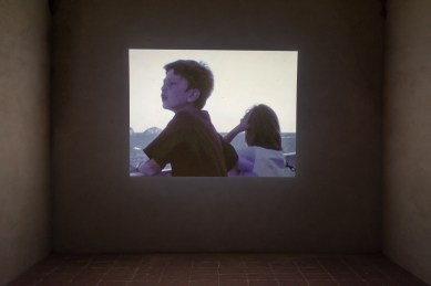 GIOVANNI OZZOLA Kids on the Boat, 2004