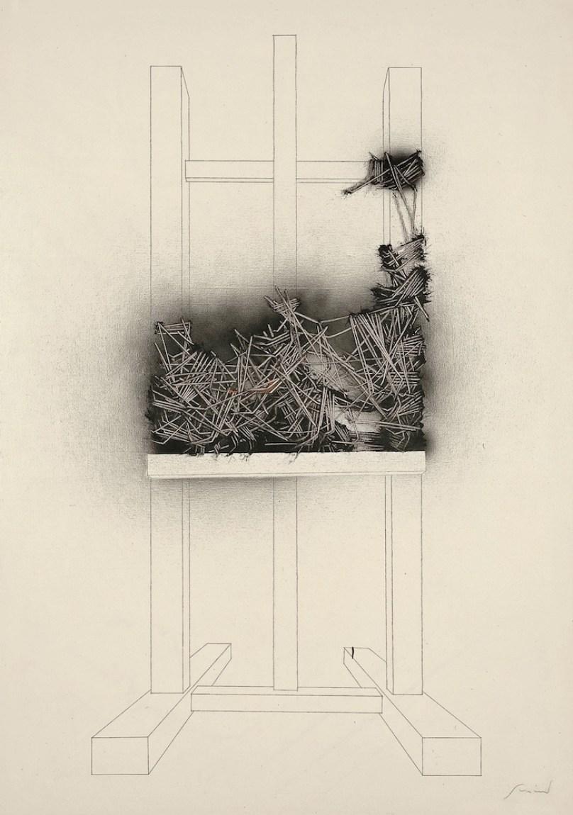 Emilio Scanavino, Come l'edera, 1980, olio su tela, 200x140 cm