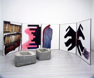 Fausta Squatriti, Zachor - In memoria. Ricordare per essere liberi, 2006, polittico, 150x500x140 cm (dimensioni massime)