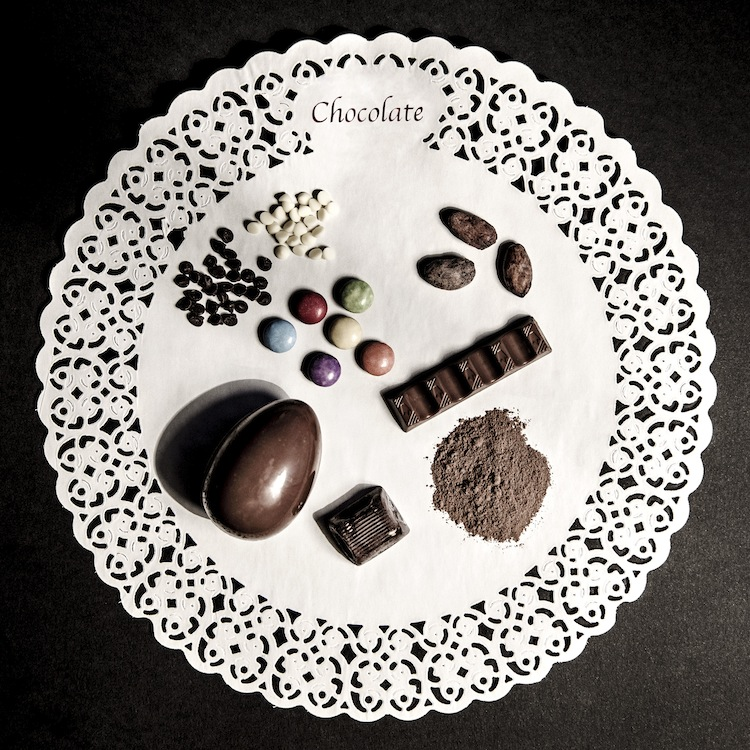 Luisa Menazzi Moretti, The Choice, 2015, serie Ingredients for a Thought, 50x50 cm
