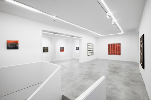 Scanavino. Opere 1968 - 1986, veduta dell'allestimento, Dep Art, Milano