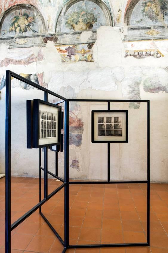 Veduta della mostra AriDadaKali di Maurizio Galimberti, Palazzetto Eucherio Sanvitale. Courtesy Ph. Massimo Dall'Argine