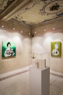 Veduta della mostra The Art of Food Valley, Palazzo Pigorini. Courtesy Ph. Federico Avanzini