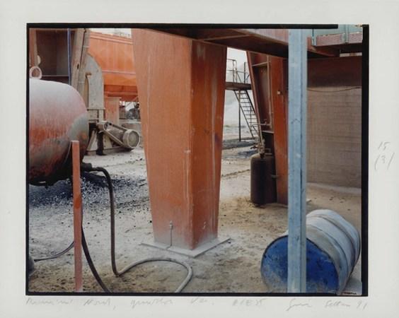 Rimini Nord, guardando verso Ovest 15/3, Guido Guidi, Rimini 1991, 240x301 mm Courtesy CSAC Università di Parma, Guido Guidi