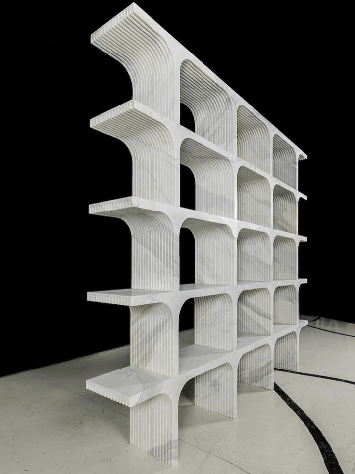 Paolo Ulian, Comb, libreria-panchetta, Robot City 2015 Foto Enrico Amici