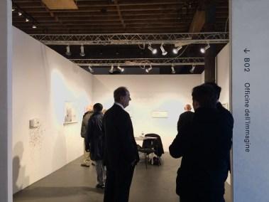 Contemporary African Art Fair. Stand della Galleria Officine dell'Immagine