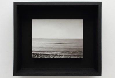 Ettore Frani Primo movimento 2016 olio su tavola laccata e acrilico su akò cm 34,5x40,5x10 courtesy Paola Feraiorni
