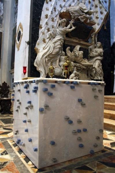 Alberto Gianfreda, Altare, 2016, Chiesa di San Nicola da Tolentino, Venezia