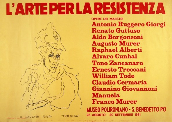 Ernesto Treccani, L'Arte per la Resistenza, 1981