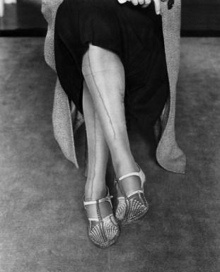 Dorothea Lange, Mended Stockings, San Francisco, California, 1933