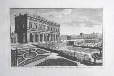 Immaginare il giardino, una delle stampe esposte, Villa Giulia, Verbania Pallanza