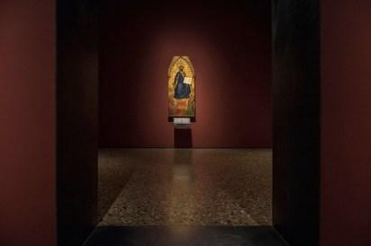 Il nuovo allestimento della Pinacoteca di Brera: Medioevo, Sala 2 © James O'Mara