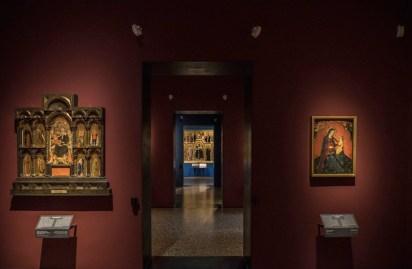 Il nuovo allestimento della Pinacoteca di Brera: Medioevo, Sala 3 © James O'Mara
