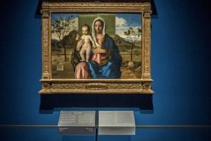 Il nuovo allestimento della Pinacoteca di Brera: Madonna con il Bambino, Giovanni Bellini, Sala 7 © James O'Mara