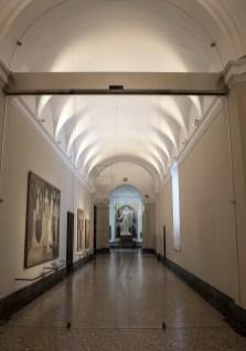 Il nuovo allestimento della Pinacoteca di Brera: la nuova vetrata dell'ingresso © James O'Mara
