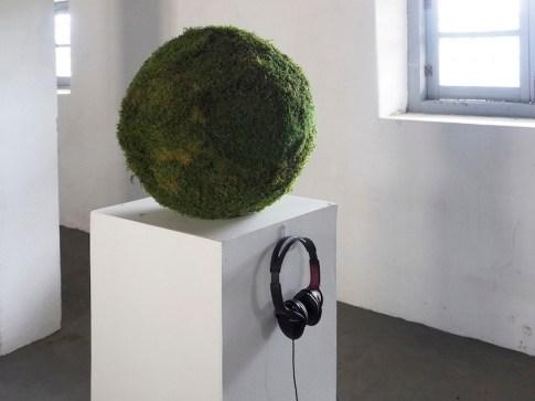 In principio è la Terra, veduta della mostra (Maria Rebecca Ballestra), Forte di Gavi (AL), Gavi Foto di Andrea Repetto