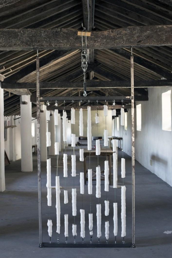 In principio è la Terra, veduta della mostra (Diego Soldà), Forte di Gavi, Gavi (AL) Foto di Enrico Minasso