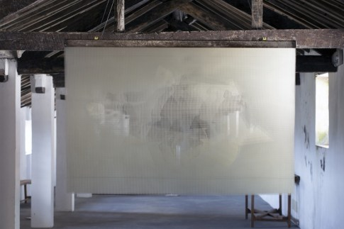 In principio è la Terra, veduta della mostra (Giorgio Tentolini), Forte di Gavi, Gavi (AL) Foto di Enrico Minasso