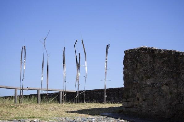 In principio è la Terra, veduta della mostra (Valdi Spagnulo), Forte di Gavi, Gavi (AL) Foto di Enrico Minasso