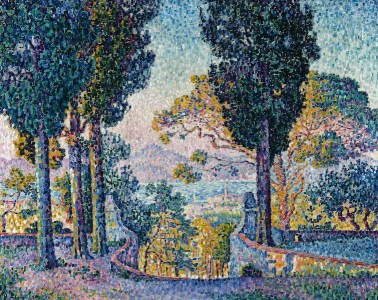 Paul Signac, Sainte-Anne (Saint-Tropez), 1905, olio su tela, 73x92 cm, Collezione privata Fotografia: Maurice Aeschimann