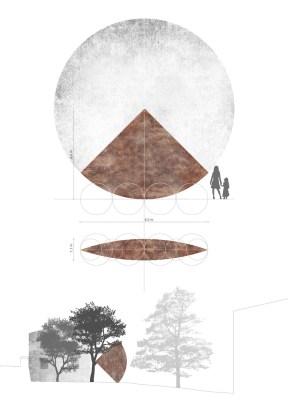 Mauro Staccioli, Progetto Scultura intervento. Villa Pisani Bonetti, 2015 Courtesy Associazione Culturale Villa Pisani Contemporary Art