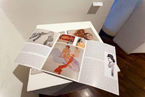 Riccardo Mannelli, Bellezza vera, veduta della mostra. Courtesy Galleria Gagliardi San Gimignano