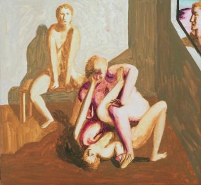 Ettore Tripodi, Storie, 2016, tempera su tavola, 26x24 cm Courtesy Studio d'Arte Cannaviello, Milano