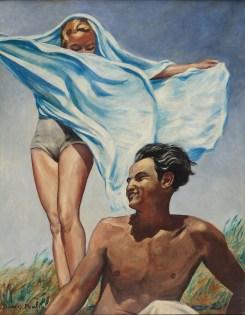 Francis Picabia, Printemps, um 1942-1943, Öl auf Leinwand, 115x90 cm, Courtesy Michael Werner Gallery, New York, London, und Märkisch Wilmersdorf © 2016 ProLitteris, Zürich