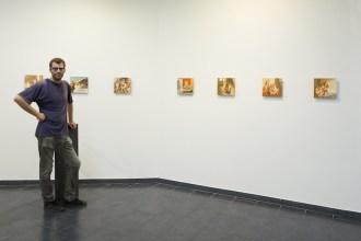 Ettore Tripodi. Storie, l'artista in mostra, Studio d'Arte Cannaviello, Milano Foto di Marcello Tomasi