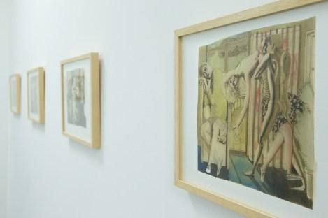 Ettore Tripodi. Storie, veduta della mostra, Studio d'Arte Cannaviello, Milano Foto di Marcello Tomasi