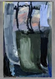 Per Kirkeby, Winter III, 1985, olio su tela, 200x130 cm Courtesy Galerie Michael Werner, Berlino