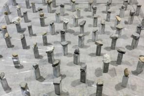 Kishio Suga, Law of Multitude, 1975/2016 (dettaglio) Courtesy dell'artista, Guggenheim Abu Dhabi e Pirelli HangarBicocca, Milano Foto Agostino Osio