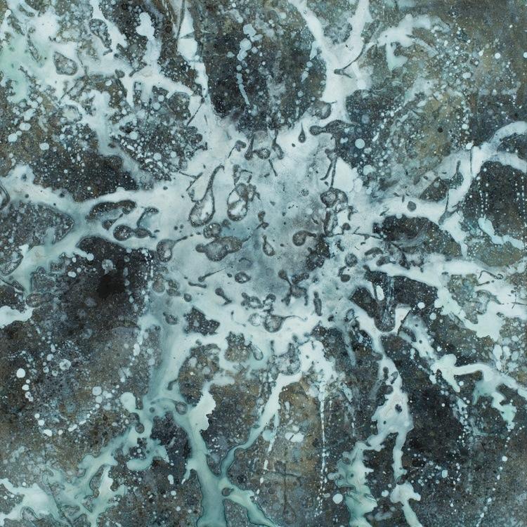 Alberto Di Fabio, Energia Magnetica, 2015, acrilico su tela, 60x60 cm Courtesy Luca Tommasi Arte Contemporanea, Milano