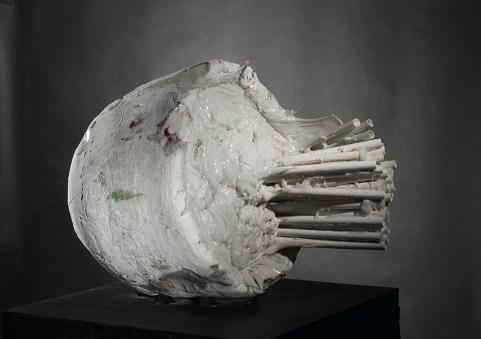 Jun Nishida, Nought, 2002, porcellana 2002, c 71.5x70x93