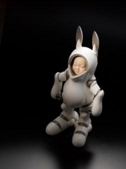 Shigeki Hayashi, Koz-o type R, 2008-2010, porcellana, cm 75x36x33