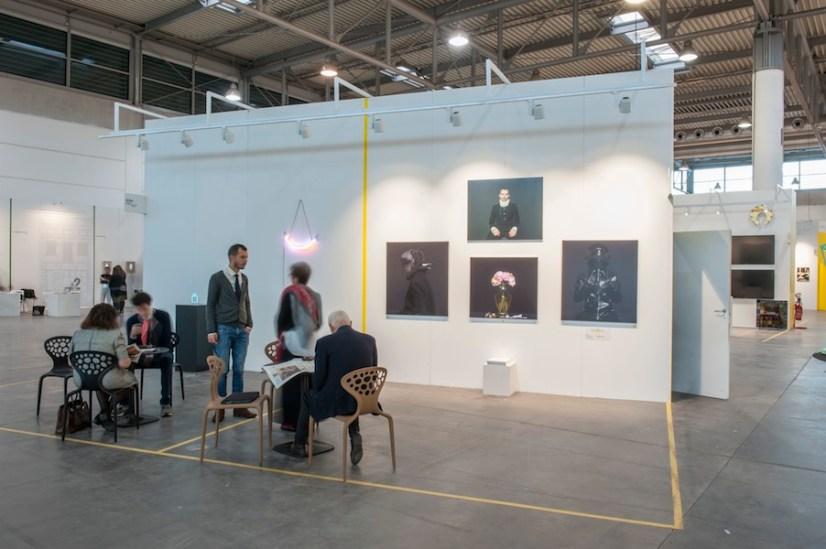 Traffic Gallery, Bergamo - ArtVerona 2016, pad. 12, Raw Zone